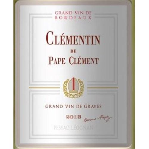 Clémentin de Pape Clément Blanc - Pessac-Léognan 2018