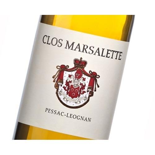 Clos Marsalette Blanc - Pessac-Léognan 2018