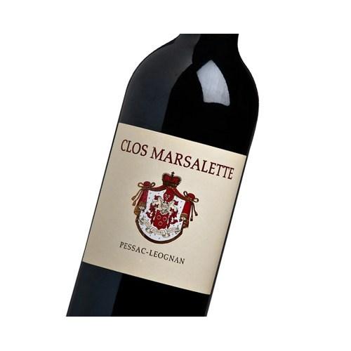 Clos Marsalette Rouge - Pessac-Léognan 2016