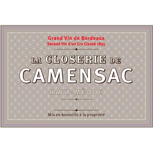 La Closerie de Camensac - Château de Camensac - Haut-Médoc 2017 6b11bd6ba9341f0271941e7df664d056