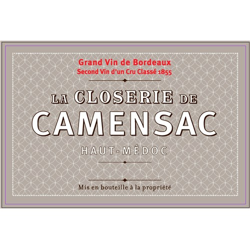 Closerie de Camensac - Château Camensac - Haut-Médoc 2019