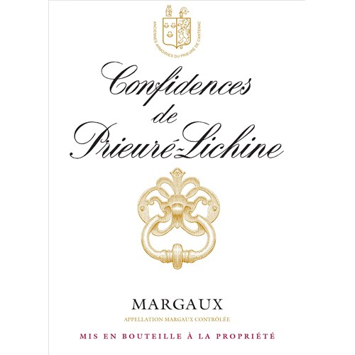 Confidences de Prieuré-Lichine - Margaux 2015