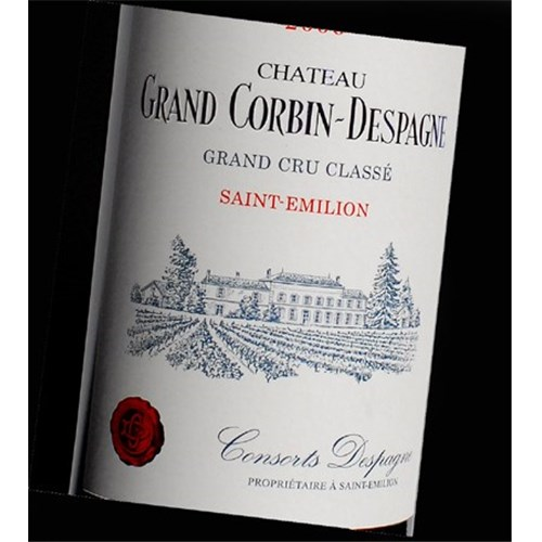 Grand Corbin Despagne Castle - Saint-Emilion Grand Cru 2013
