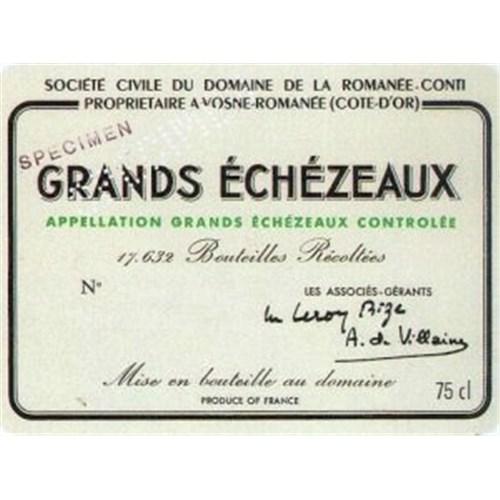 Grands Echezeaux - Domaine de la Romanée Conti - Grands Echezeaux 2011