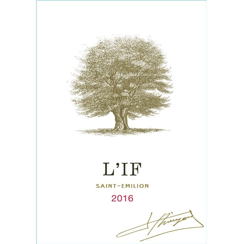 L'If - Saint-Emilion Grand Cru 2016 6b11bd6ba9341f0271941e7df664d056