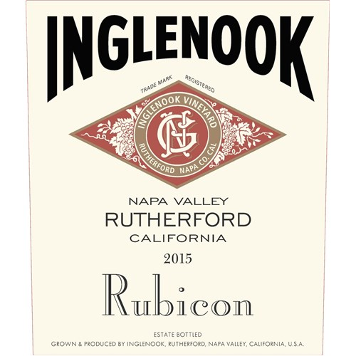 Inglenook Rubicon - Napa Valley 2015 37.5 cl