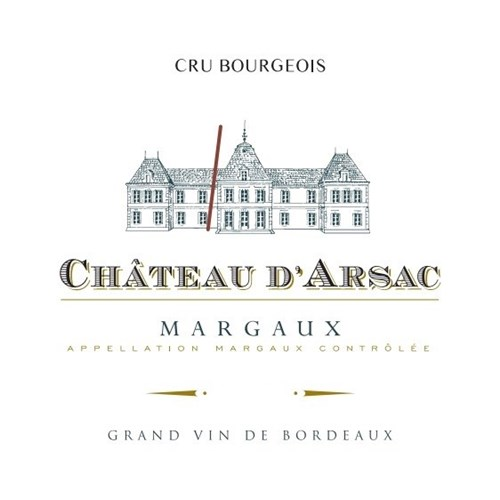 Magnum Château d'Arsac - Margaux 2018