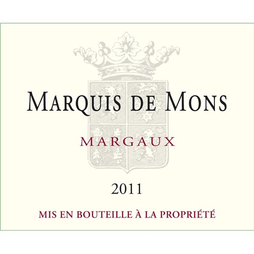 Marquis of Mons - Margaux 2014