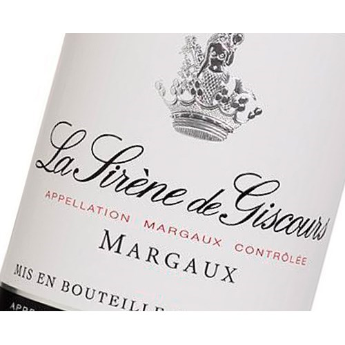 Mermaid of Giscours - Château Giscours - Margaux 2016 11166fe81142afc18593181d6269c740