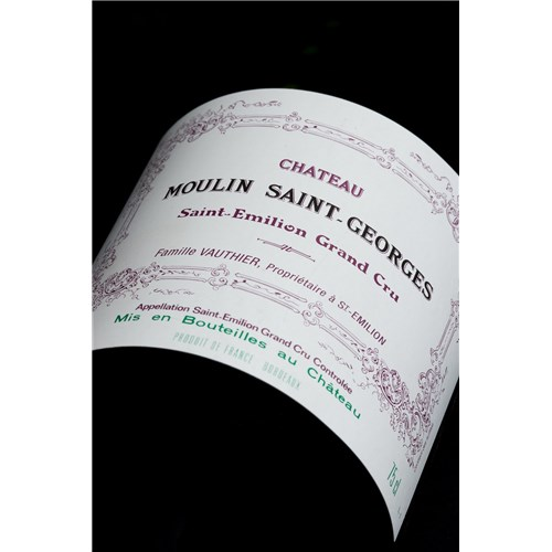 Moulin Saint-Georges Castle - Saint-Emilion Grand Cru 2014