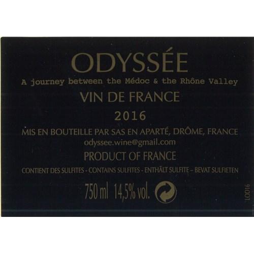 Odyssey - Vin de France 2016