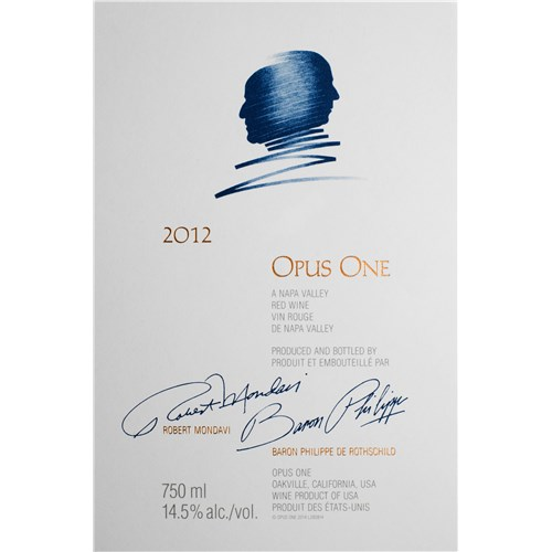 Opus One - Napa Valley 2012