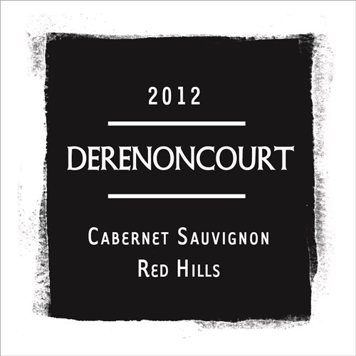 Red Hills - Cabernet Sauvignon - Derenoncourt California - Lake County 2012