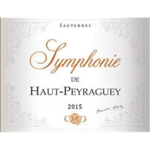 Symphony of Haut Peyraguey - Sauternes 2015
