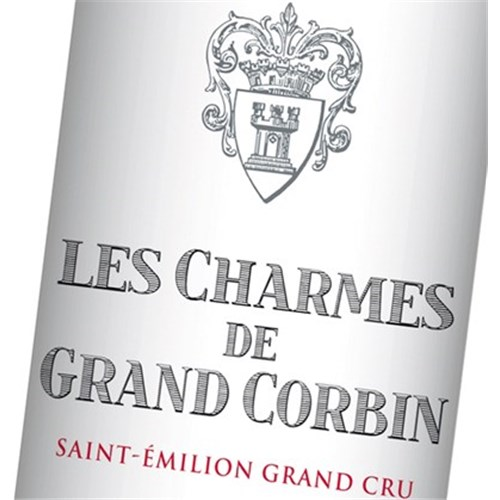 The Charms of Grand Corbin - Saint-Emilion Grand Cru 2013