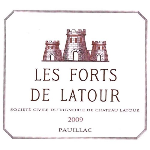 The Forts of Latour - Pauillac 2009