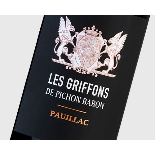 The Griffons of Pichon Baron - Pauillac 2015 11166fe81142afc18593181d6269c740