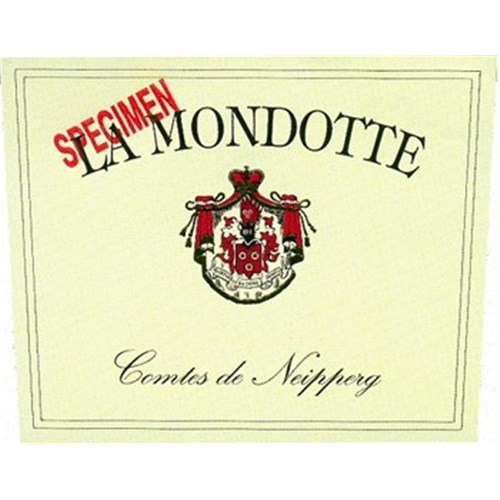 The Mondotte - Saint-Emilion Grand Cru 1996