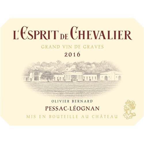 The Red Knight Spirit - Domaine de Chevalier - Pessac-Léognan 2016