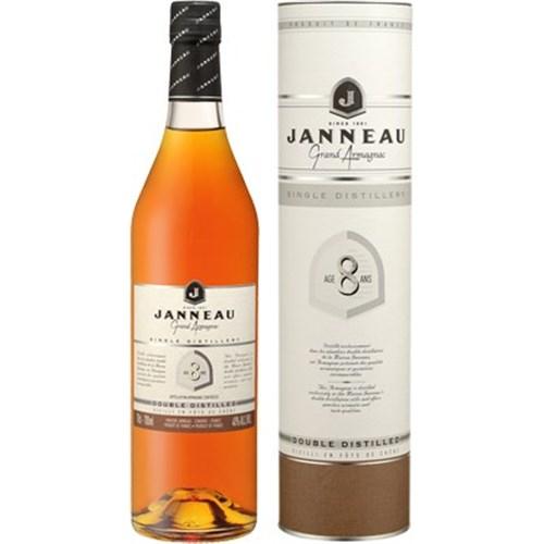 Armagnac Janneau Single Distillery 8 ans 40° 70 cl