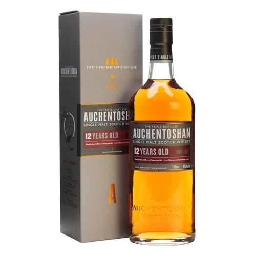 Auchentoshan 12 Years 40 ° - Single Malt Scotch Whiskey