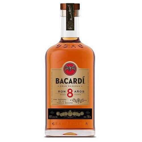 Bacardi Ocho rum 8 years 40 °