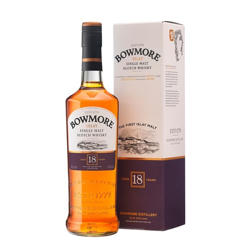 Bowmore 18 years 43 ° - Single Malt Scotch Whiskey