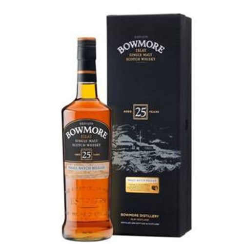 Bowmore 25 ans 43 ° - Islay Single Malt Scotch Whiskey 6b11bd6ba9341f0271941e7df664d056