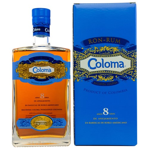 Coloma rum 40 ° 70 cl (with case)