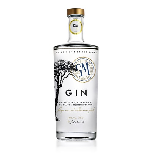 Gin 40 ° - The Grape of Montpellier