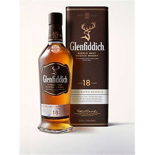 Glenfiddich 18 years old whiskey - Small Batch Reserve - 40 ° 70 cl 6b11bd6ba9341f0271941e7df664d056