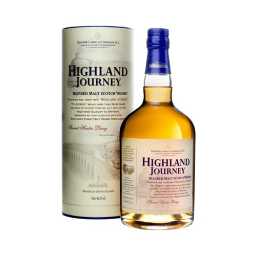 Highland Journey - Blended Malt Scotch Whisky 46.2° 70 cl