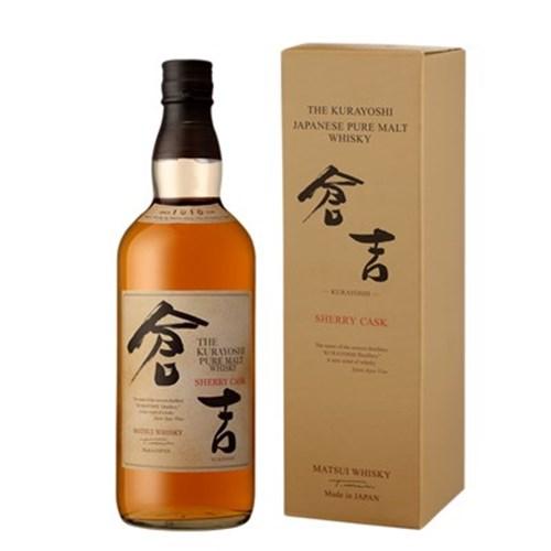 Kurayoshi Sherry Cask 43 ° - Pure Malt Whiskey - Matsui Distillery 6b11bd6ba9341f0271941e7df664d056