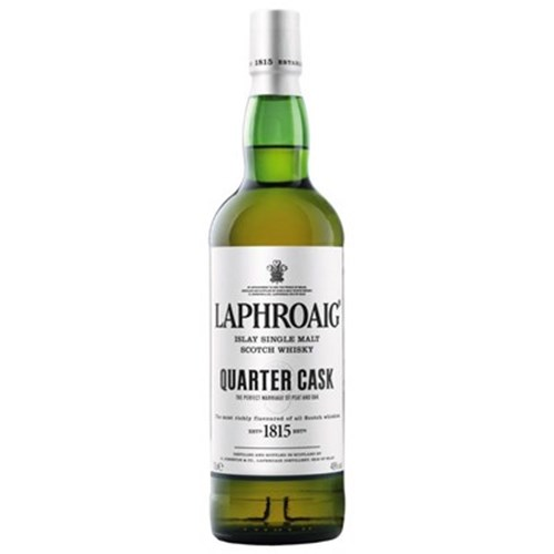 Laphroaig Quarter Cask with case 48 ° - Single Malt Scotch Whiskey 6b11bd6ba9341f0271941e7df664d056