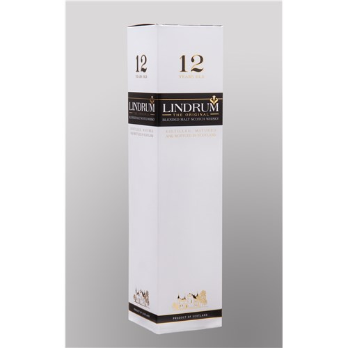 Lindrum 12 years Blended Malt Scotch Whiskey with case