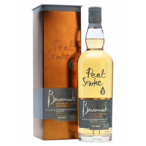 Peat Smoke 46° - Benromach - Single Malt Scotch Whisky