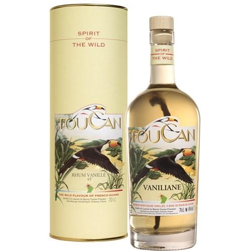 Rum Toucan Vaniliane 45 °