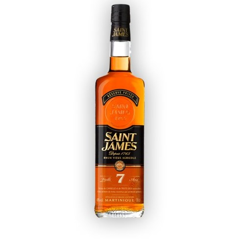 Saint James Old 7 years 43 °