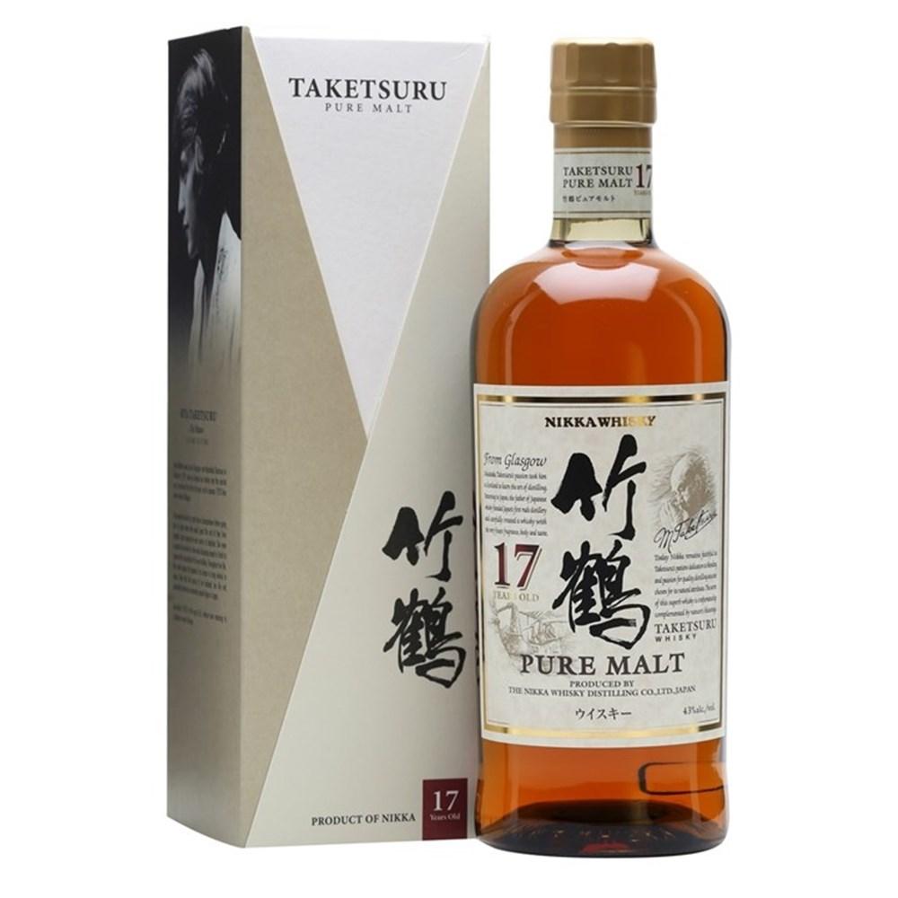 Taketsuru 17 ans 43 nikka blended malt scotch whisky for Plante whisky