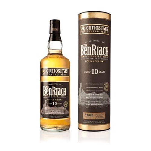 The BenRiach 10 ans Curiositas 46 ° - Peated Single Malt Scotch Whiskey 6b11bd6ba9341f0271941e7df664d056