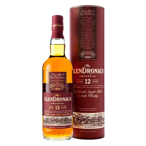 The GlenDronach 12 ans Original 43° - Single Malt Scotch Whisky