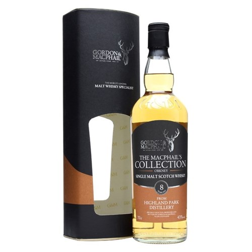 The MacPhail's Collection 8 ans 43° - Highland Park Distillery - Single Malt Scotch Whisky