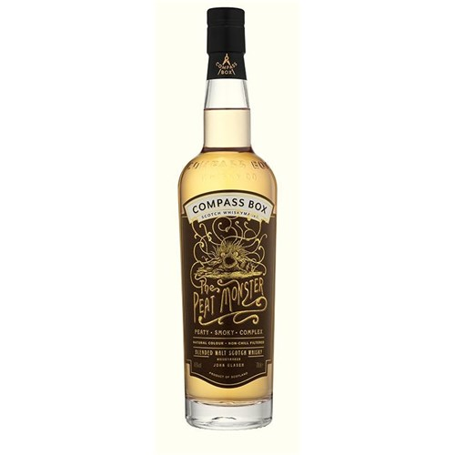 The Peat Monster 46° - Blended Malt Scotch Whisky - Compass Box Whisky