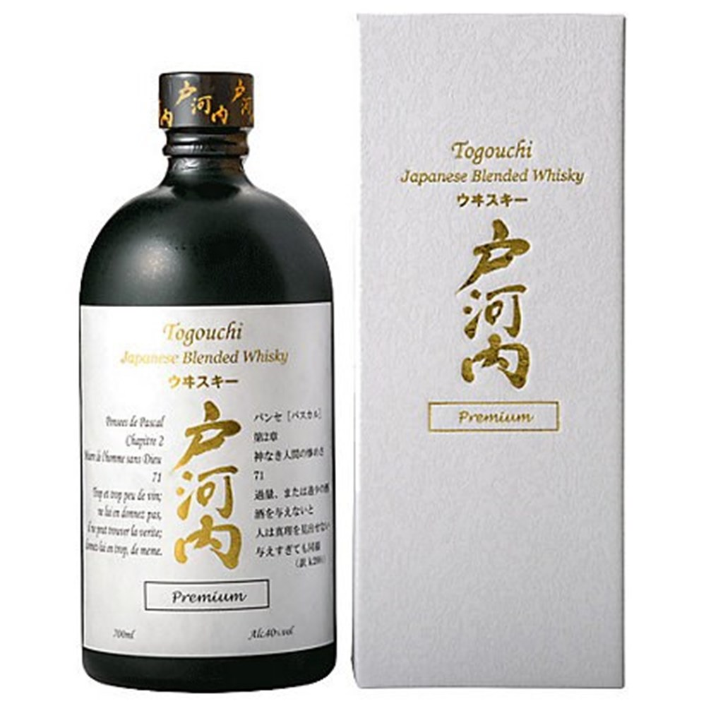 Togouchi premium 40 blended whisky chugoku jozo for Plante whisky
