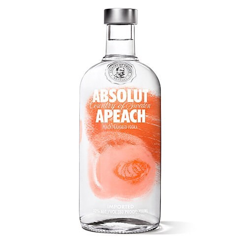 Vodka Absolut Peach 40 ° 70 CL