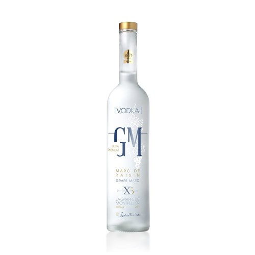 Vodka de Marc de Raisin 40° 300 cl - La Grappe de Montpellier