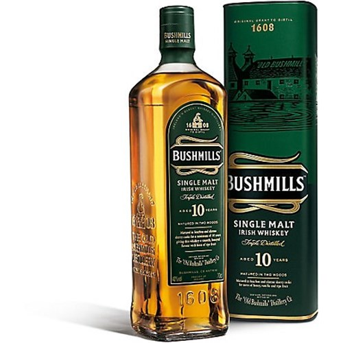 Whiskey Bushmills 10 years Single Malt 40 °