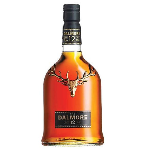 Whiskey Dalmore 12 years old 40 ° 70 cl
