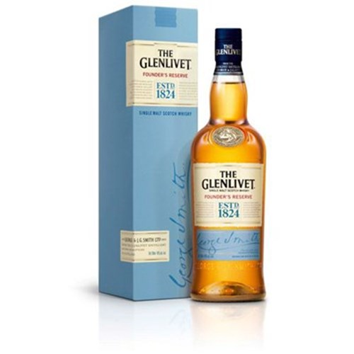 Whiskey Glenlivet Founder's Reserve 40 ° 70 cl