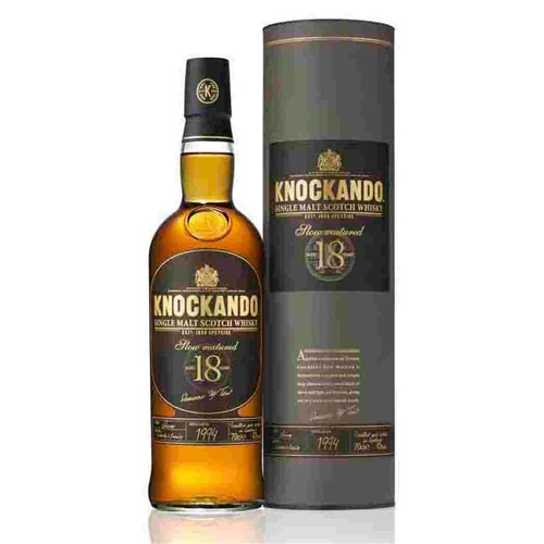 Whiskey Knockando 18 years old 43 ° 70 cl